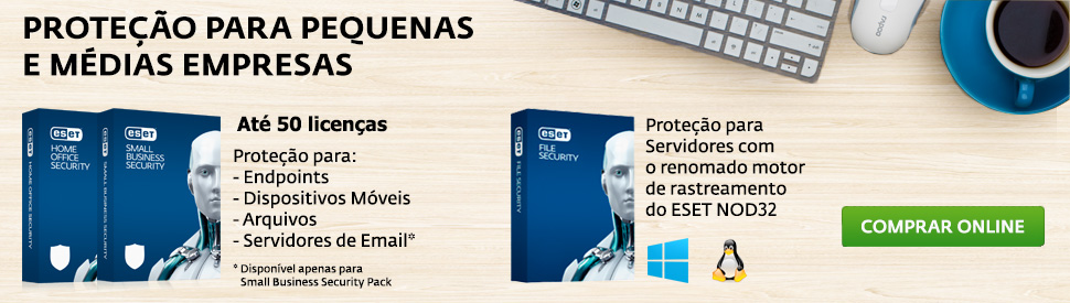 Novos produtos Business: Home Office, Small Business e File Security