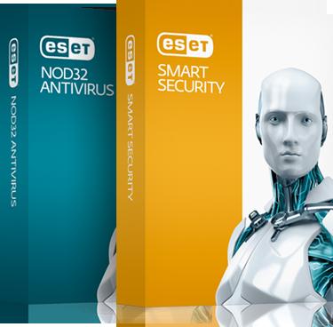Compras na internet com segurança - ESET Smart Security e ESET NOD32 Antivirus